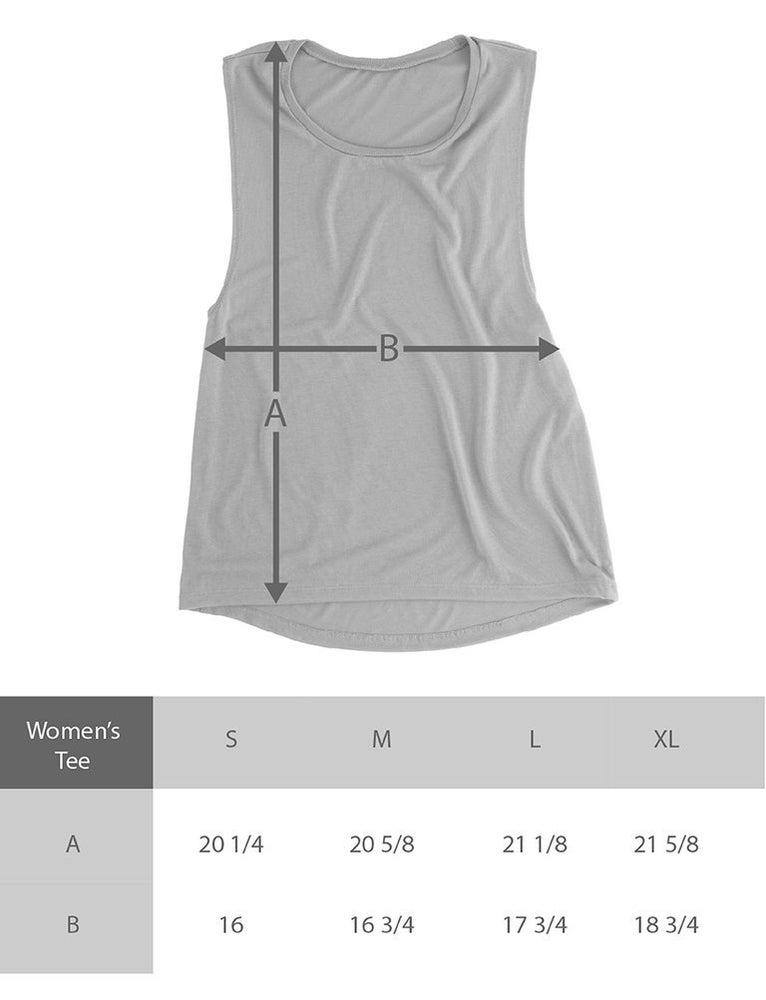 Image of Lady Warrior - Flowy Muscle Tank
