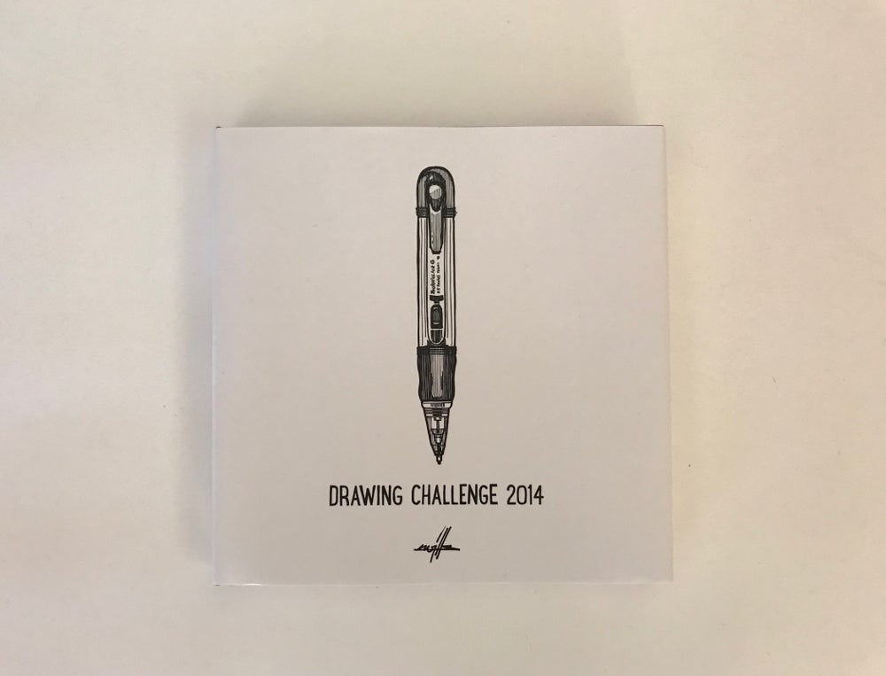Image of Book Drawing Challenge 2014