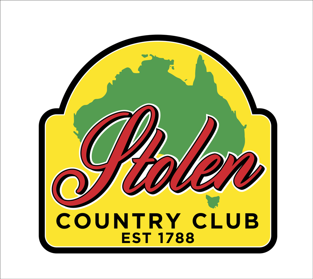 Image of 5 pack Stolen Country Club official stickers