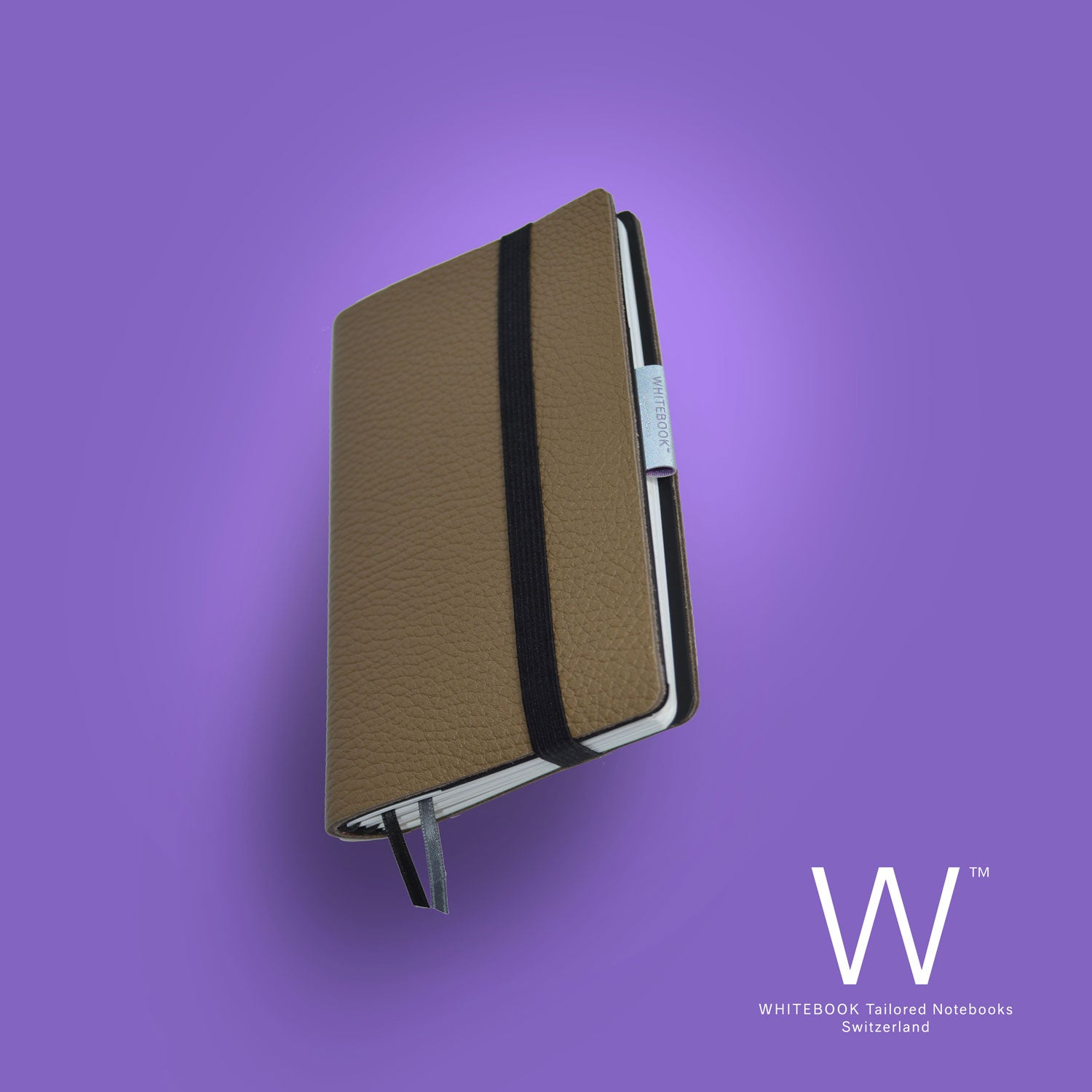 Image of Whitebook Mobile, S559, thick french calf leather, LV marron