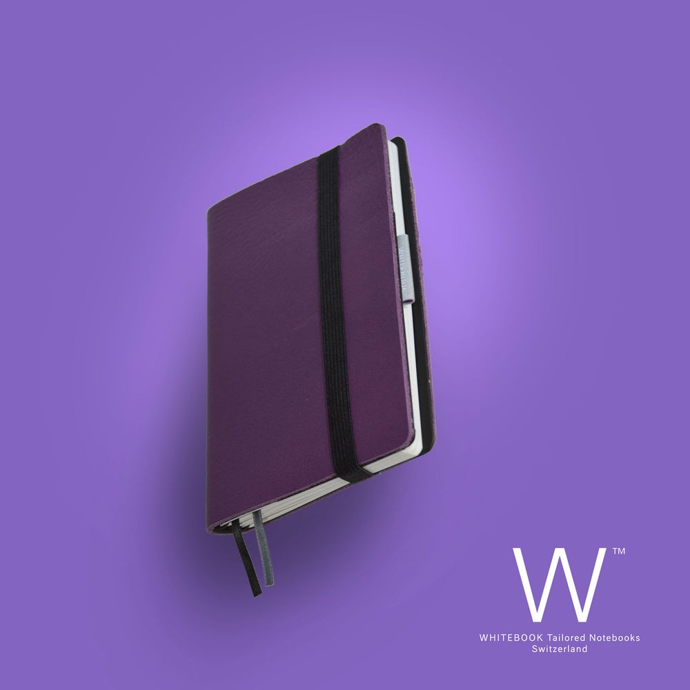 Image of Whitebook Mobile, S578, soft french calf leather, LV violet