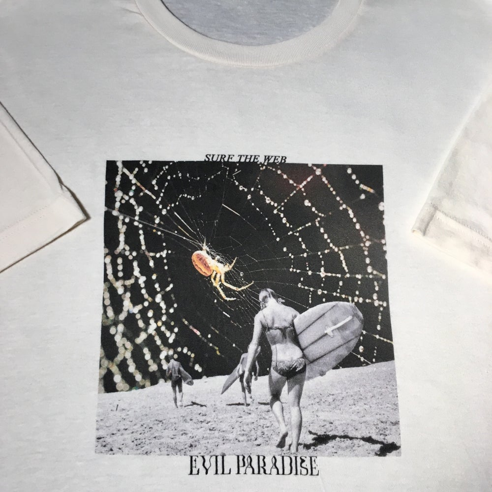 Image of SURF THE WEB TEE