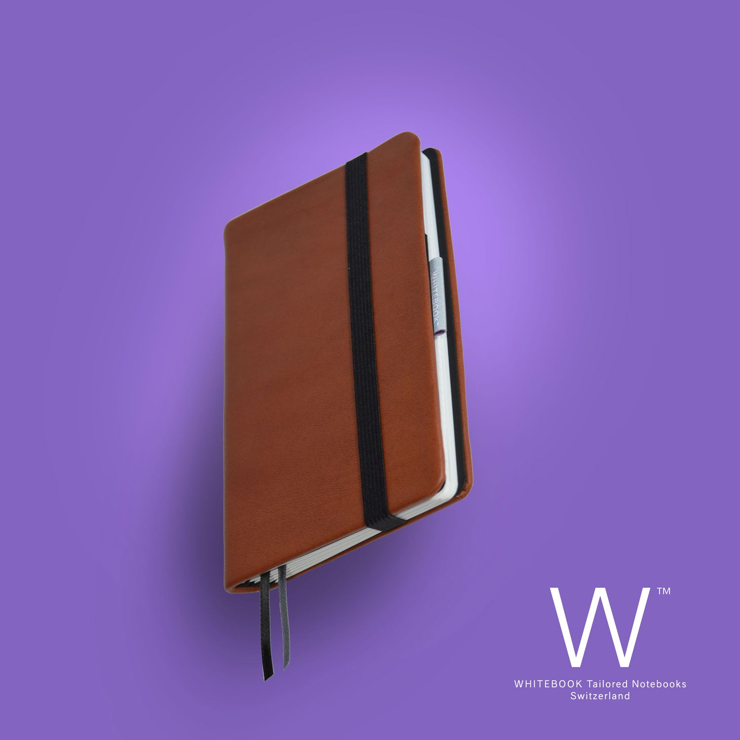 Image of Whitebook Mobile Premium, P167, calf nappa leather, welt-sewn, LV cognac imperial