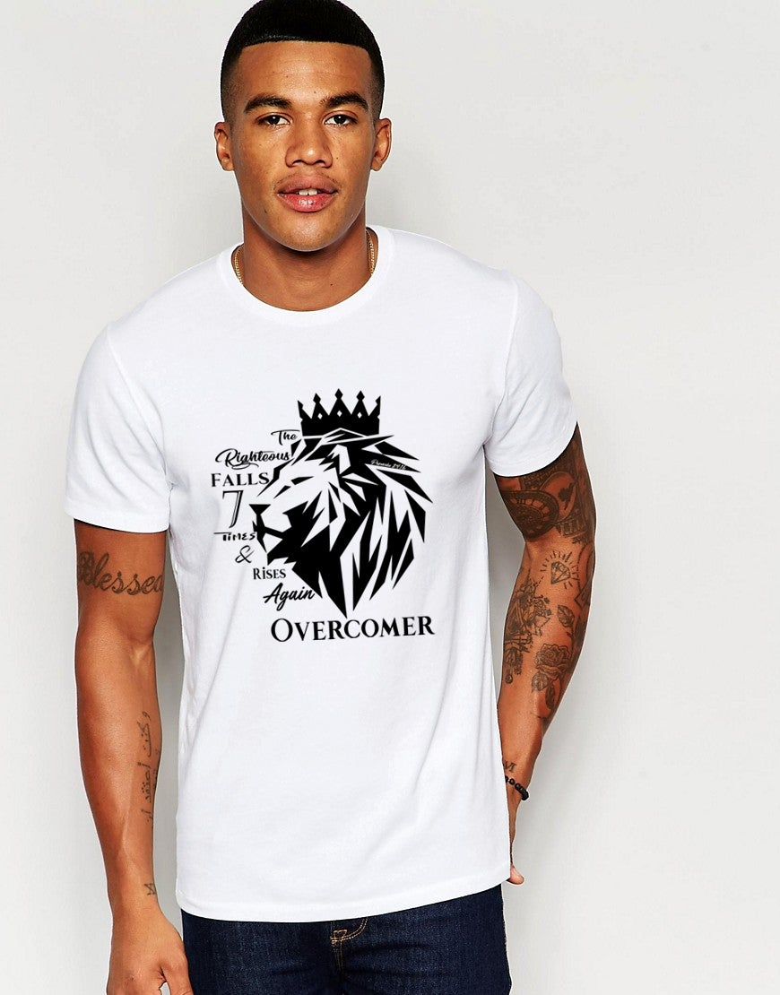 Image of Righteous Fall White Tee
