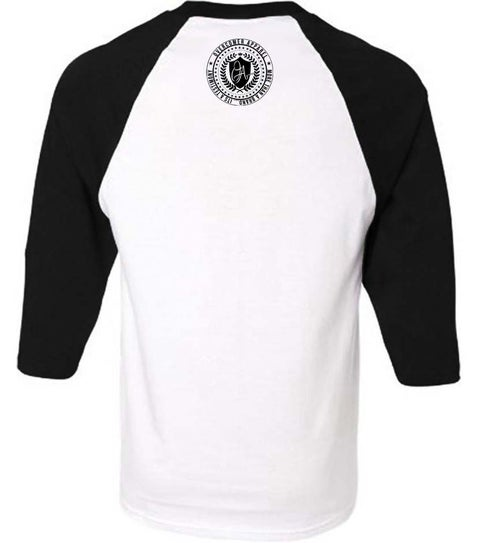 Image of Righteous Fall black/white raglan