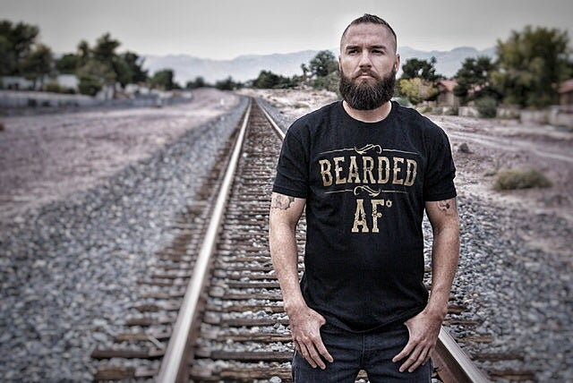 Image of OBB BEARDED AF* TEE