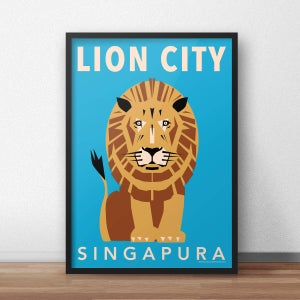 Image of Lion City - Majestic!