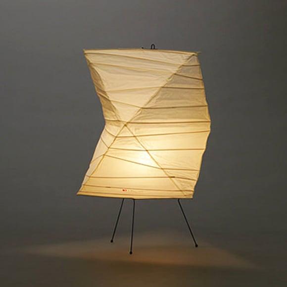 Isamu Noguchi Light Sculpture Akari Standing Lamp 26n