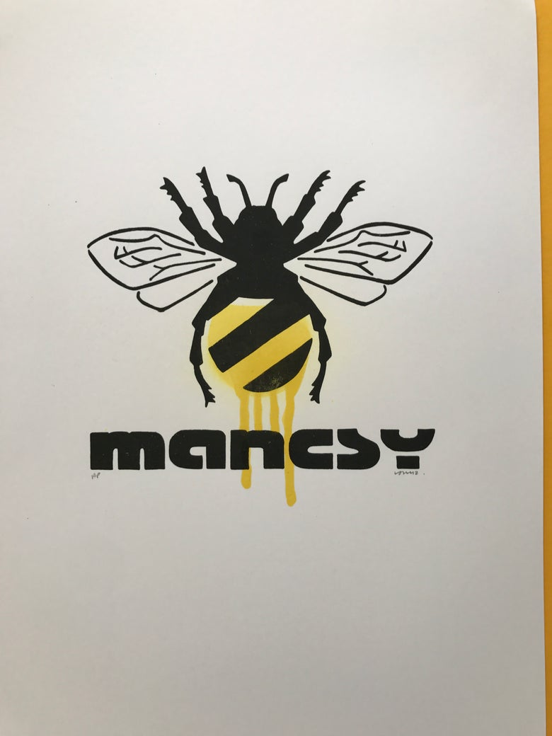 Image of The 1st design I made! BEE TAG