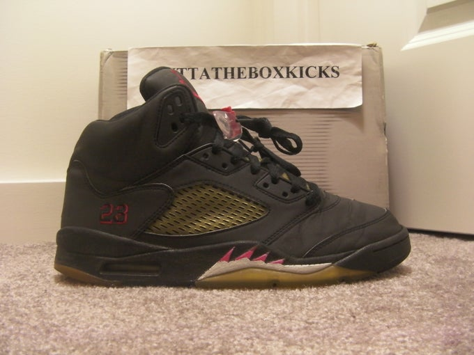 sports shoes f1ce1 64fd3 Air Jordan 5 Raging Bull DMP Pack 3M size 9.5 . ...