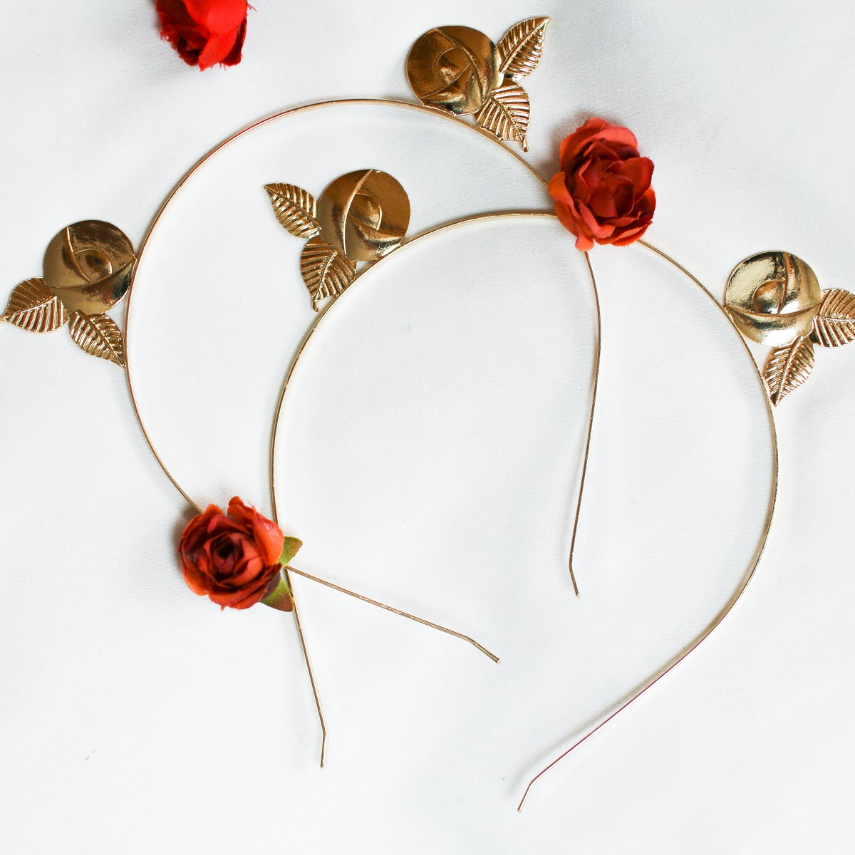 Image of Golden Rose Headband