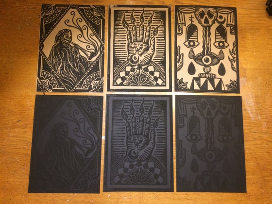 Image of Linocut Print Set 1