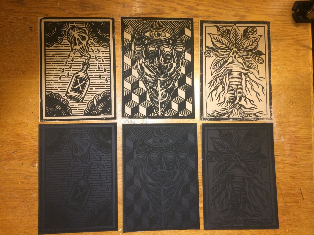 Image of Linocut Print Set 2