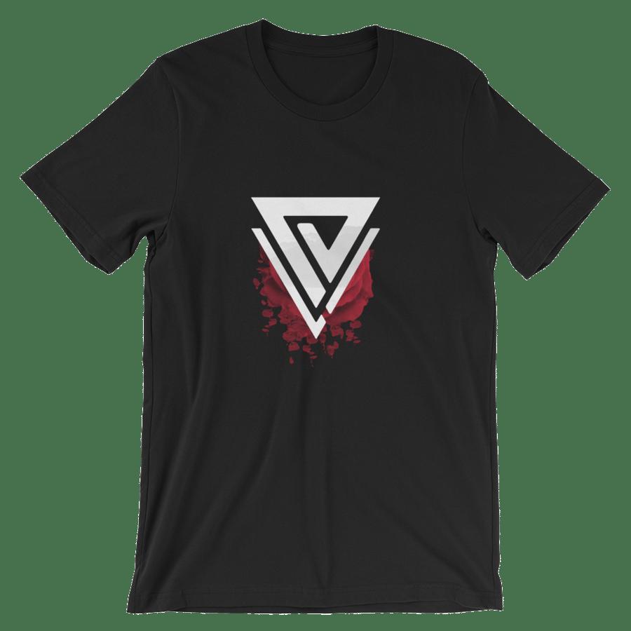 Image of Black Prismo Crest Shirt