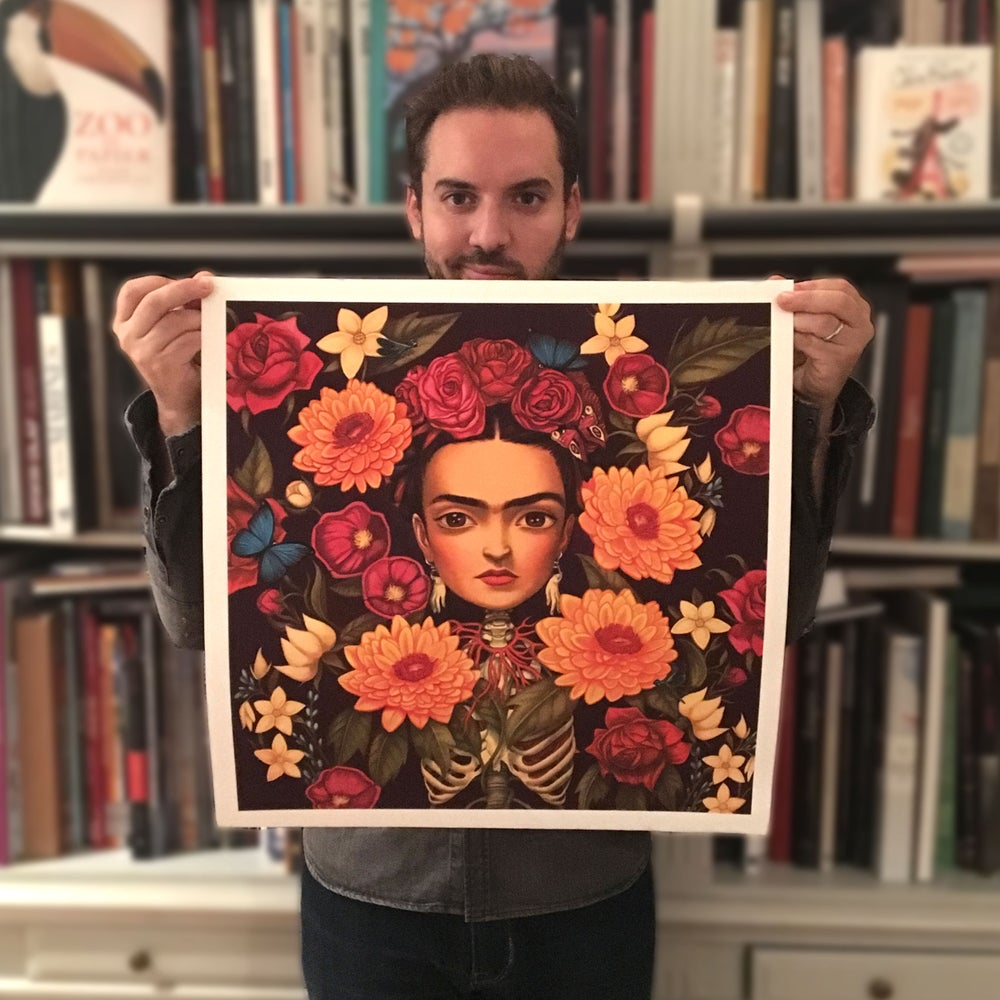 Image of Frida, the Cover