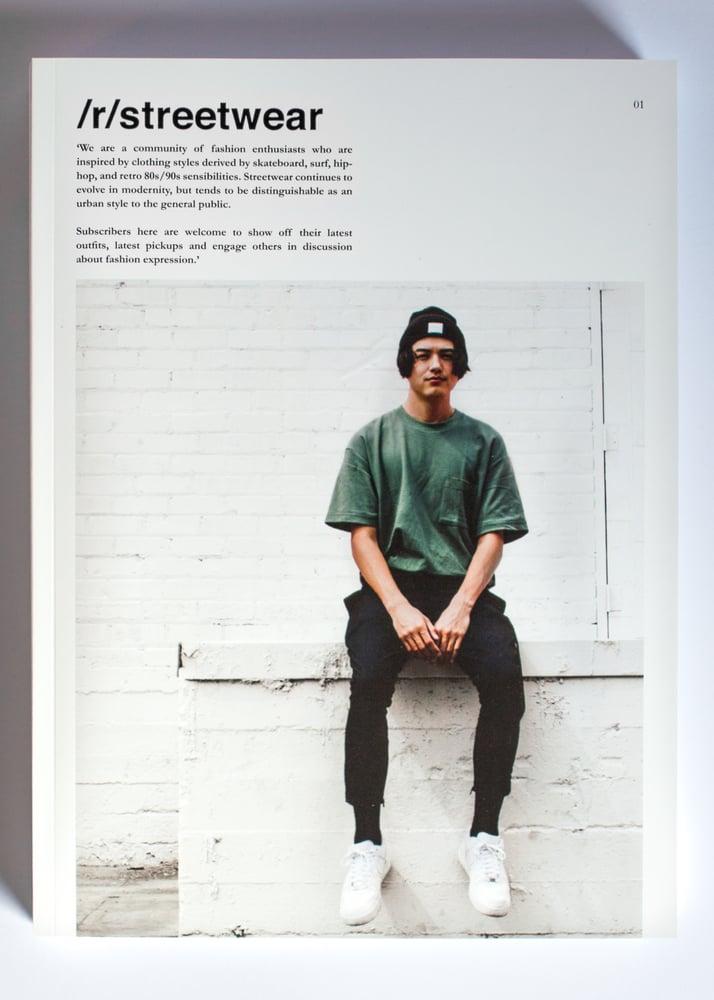 Image of /r/streetwear Publication. 01.