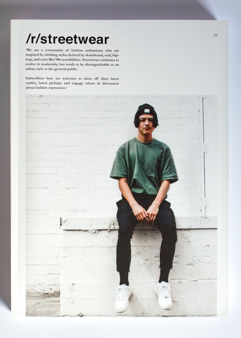 Image of /r/streetwear Publication. 01.
