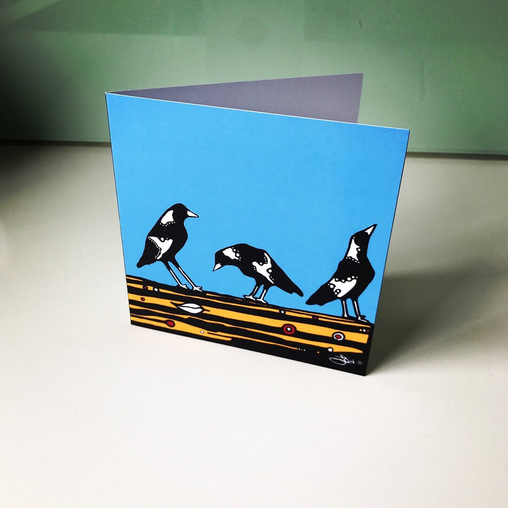 Image of 3 Magpies Design Cards
