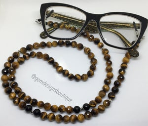 Image of Custom Beaded Eyeglass Necklace