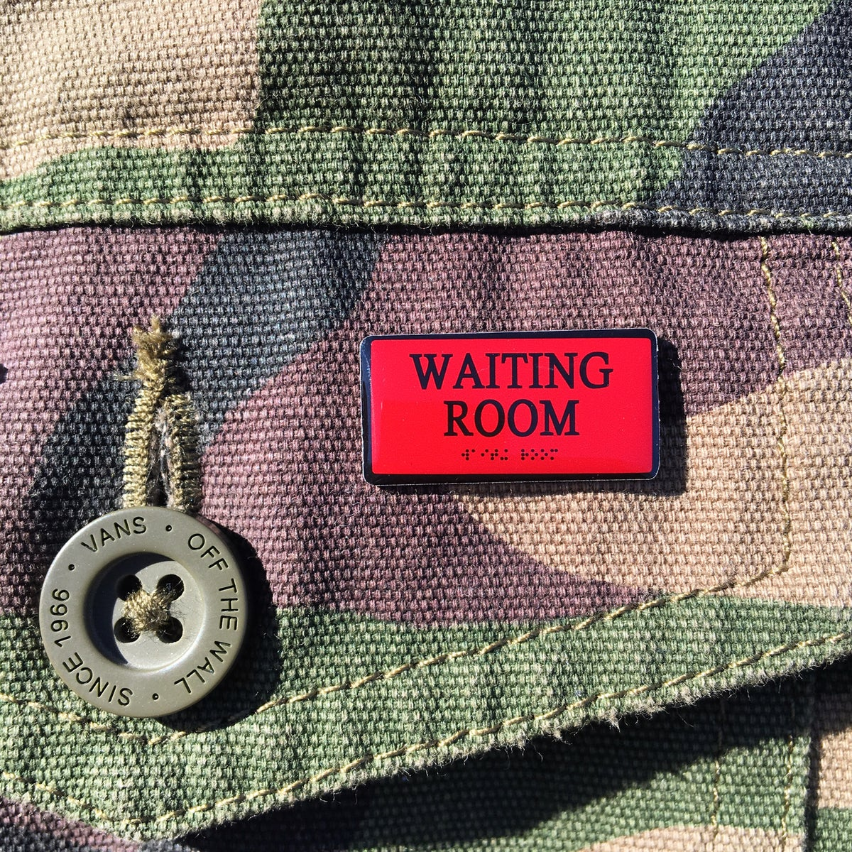 Image of Waiting Room Pin