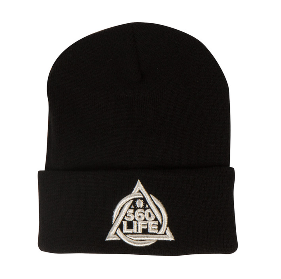 Image of White Gold Life Beanie