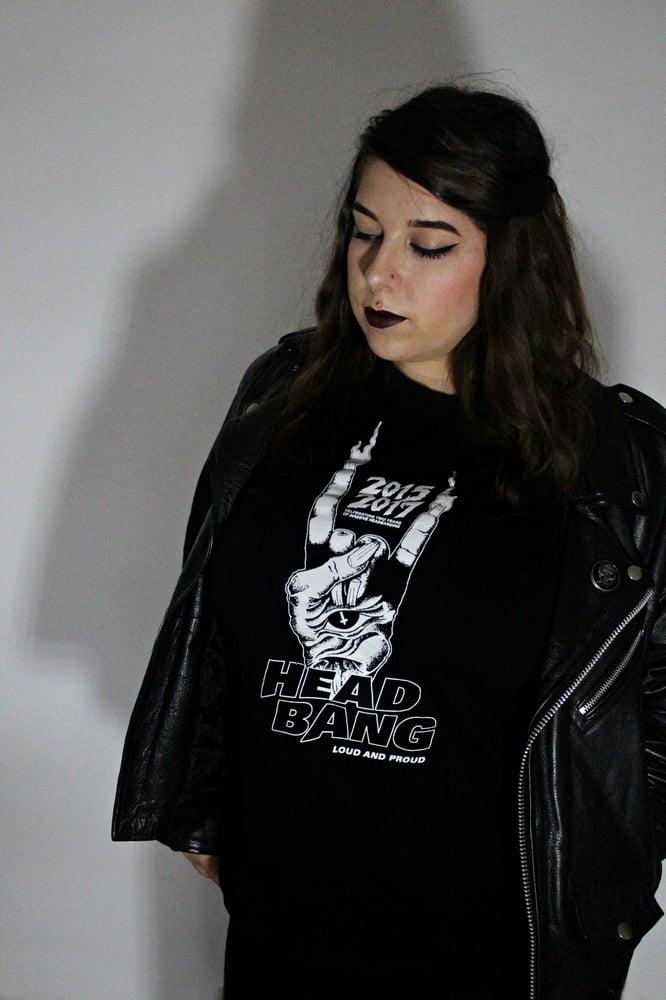 "Image of Gildan Heavy Cotton Ladies' T-Shirt ""Headbang 2015-2017"""