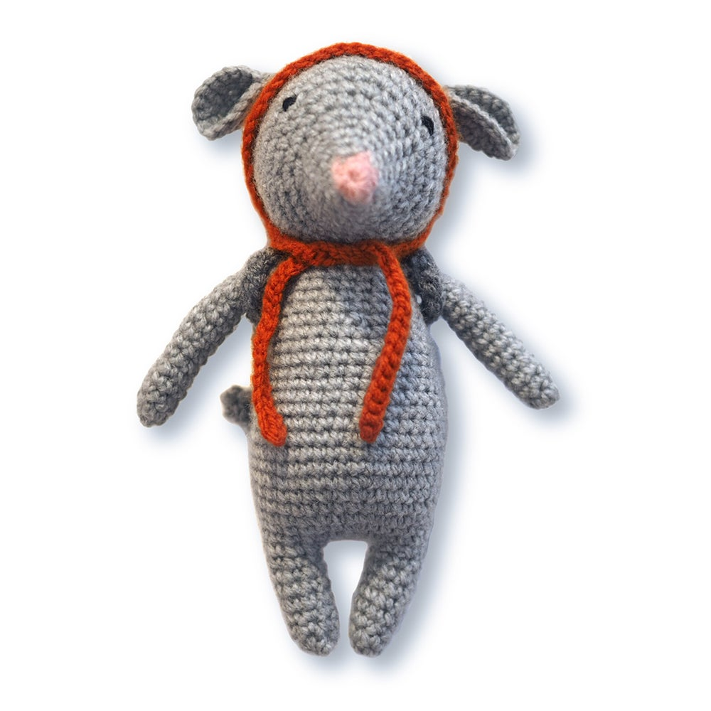 Image of Souris en crochet