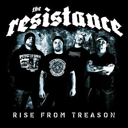 Image of THE RESISTANCE - Rise from Treason (EP) - Edition CD Jewelcase