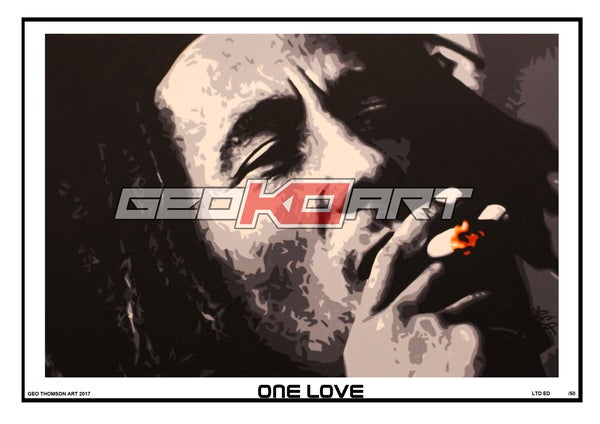 Image of ONE LOVE BOB MARLEY