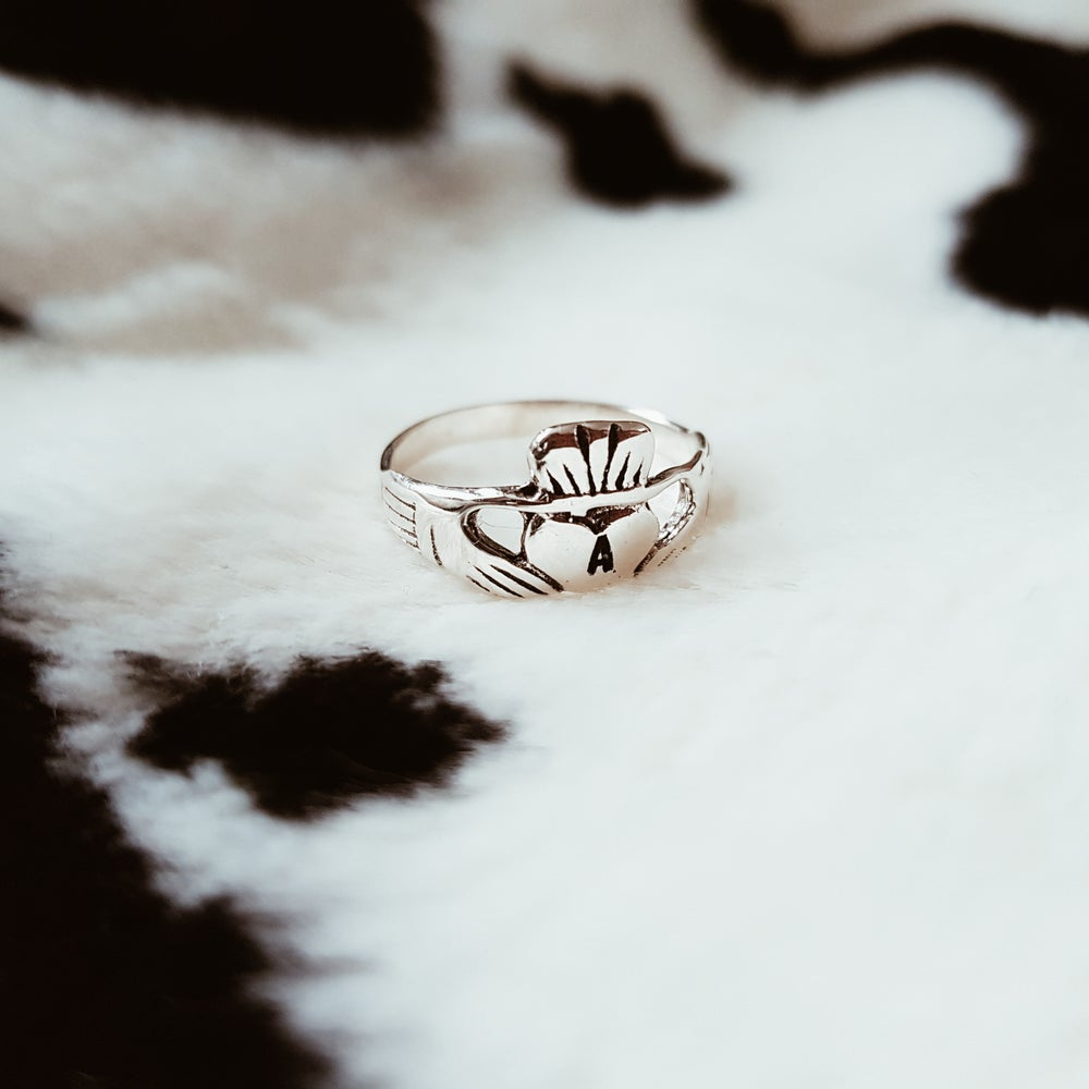 Image of Personalised Claddagh Ring