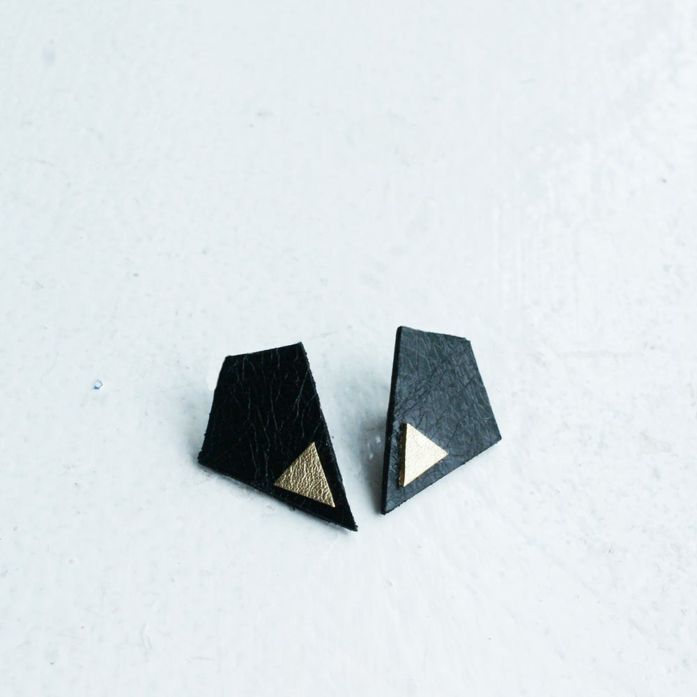 Image of Revival earrings  - Black
