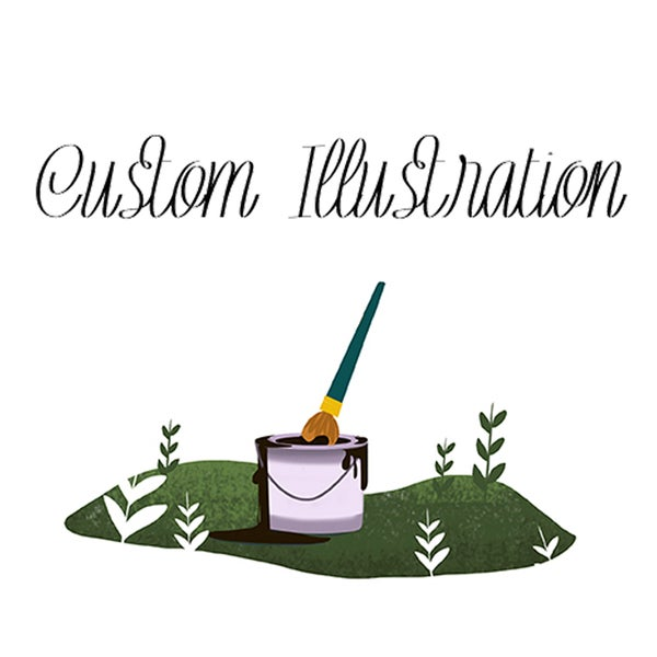 Image of Custom Illustration - For Nate