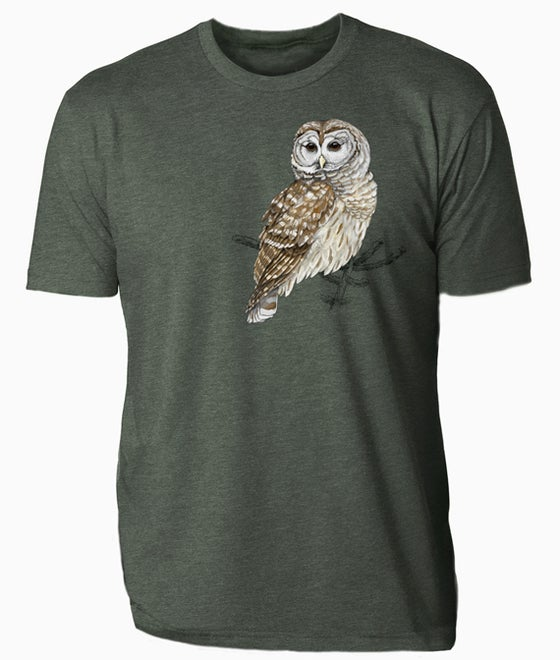 Image of Barred Owl t-shirt
