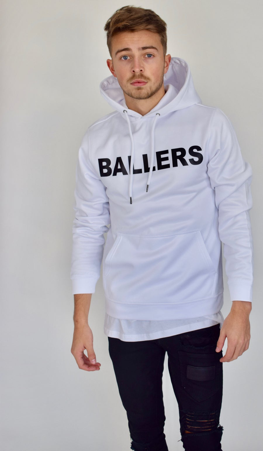 Image of Ballers Sports Artic White Pull Over