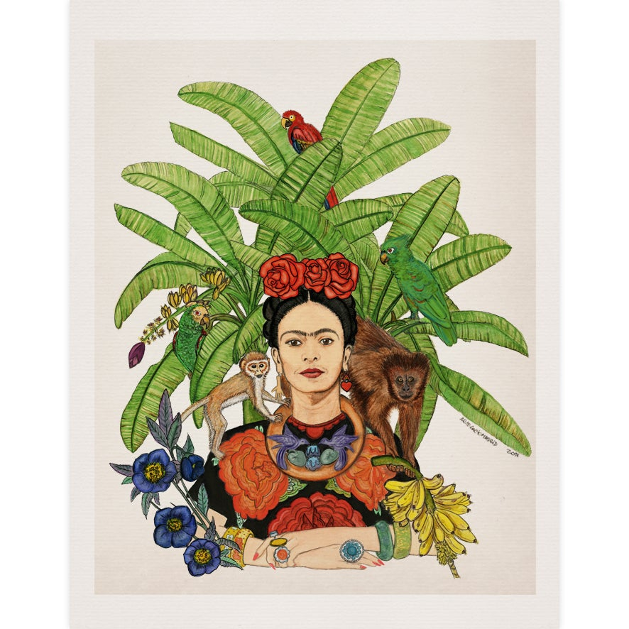 Image of Tropical Mexican Watercolor - Print