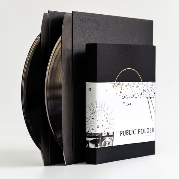 "Image of PUBLIC FOLDER #3 / Golden Record Edition (Book + 2 x 12"" Vinyl)"