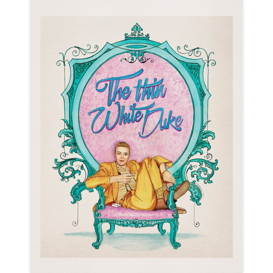 Image of The Thin White Duke - Print -