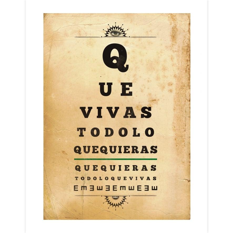 Image of QVTLQQ Eye Chart - Print