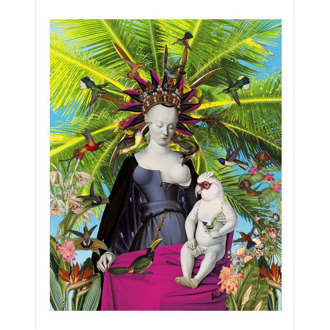 Image of Queen of the birds - Print
