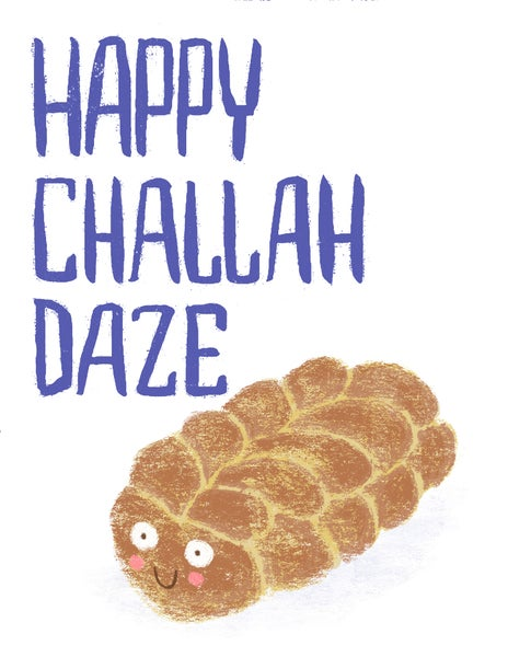 Image of Happy Challah Daze Card