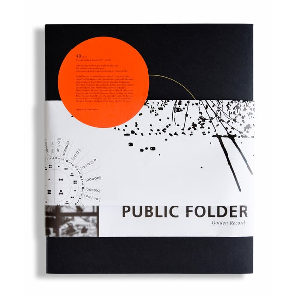 Image of PUBLIC FOLDER #3 / Golden Record (Book)