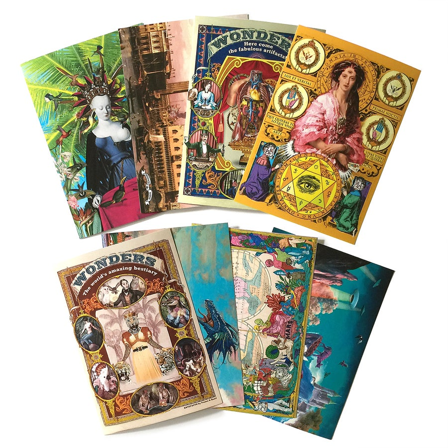 Image of 8 Postcards Set -