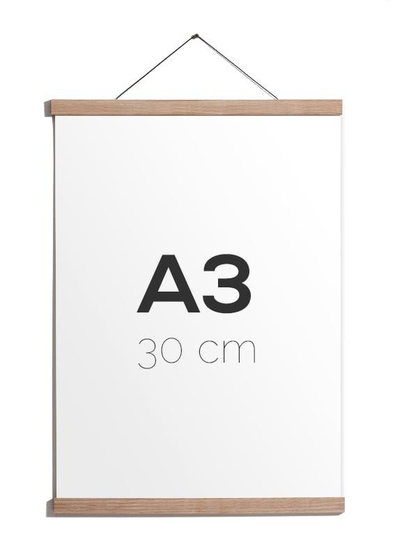 Image of Magnetic Oak Frame A3, 30 cm.