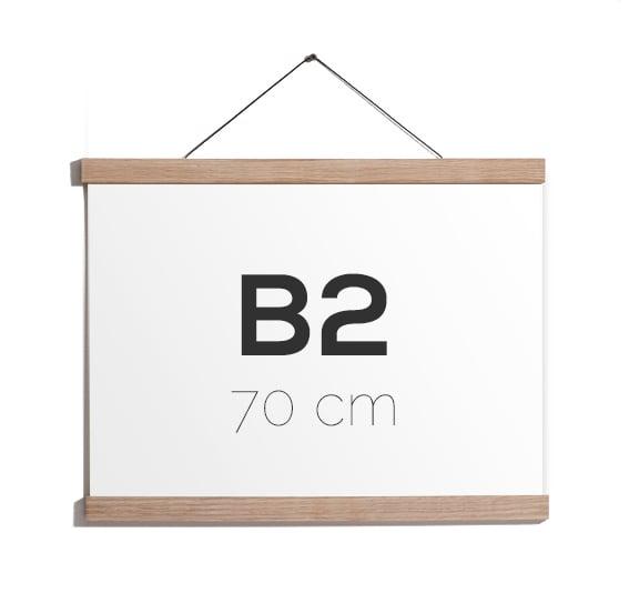 Image of Magnetic Oak Frame B2, 70 cm.