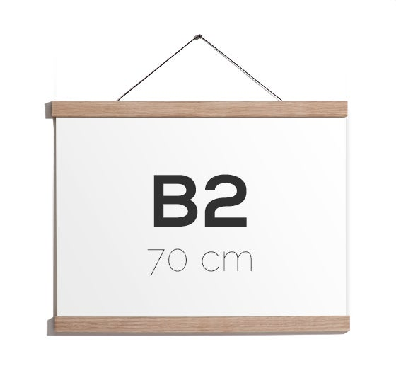 Image of Magnetic Oak Frame B2, 70 cm.