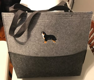 Image of Large Felt Tote Bag