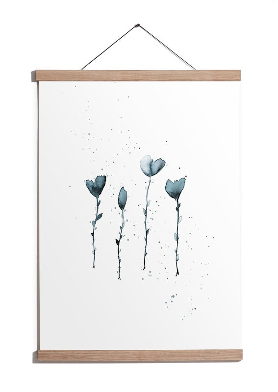 Image of Four Little Flowers // SOLD OUT