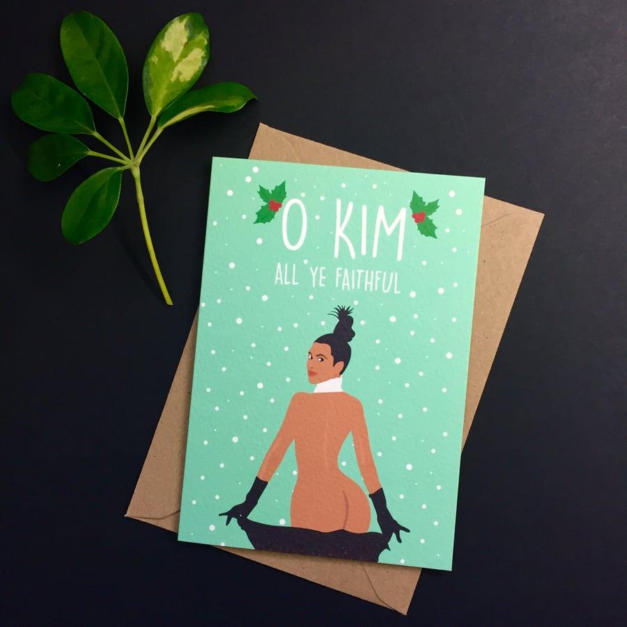 Image of Kim Kardazza Christmas Card