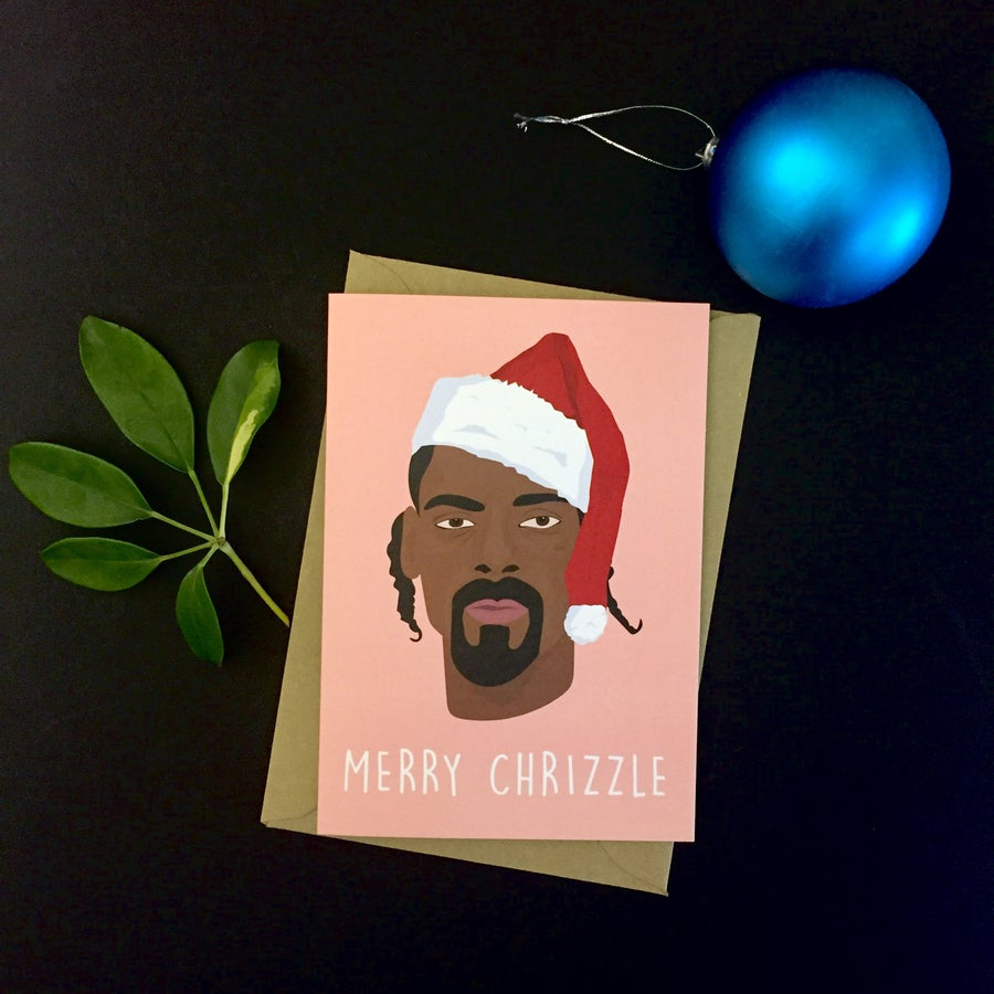 Image of Snoop Christmas Card