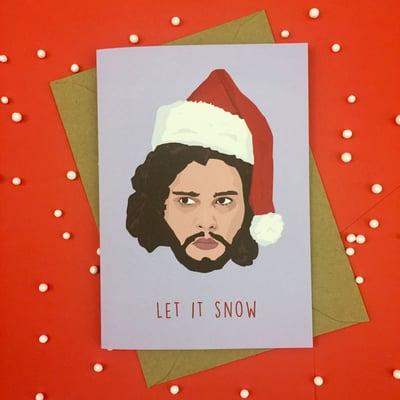 Image of Jon Snow Christmas Card